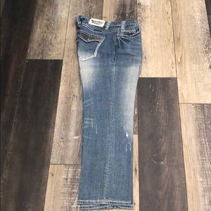 Rock n Roll Crop Jeans